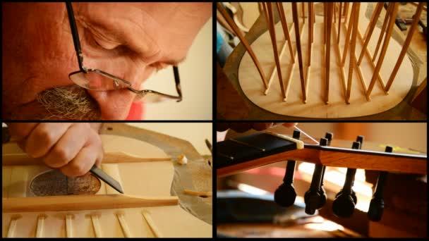 houslařské výrobě kytara
