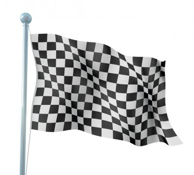 Detail Finish Flag