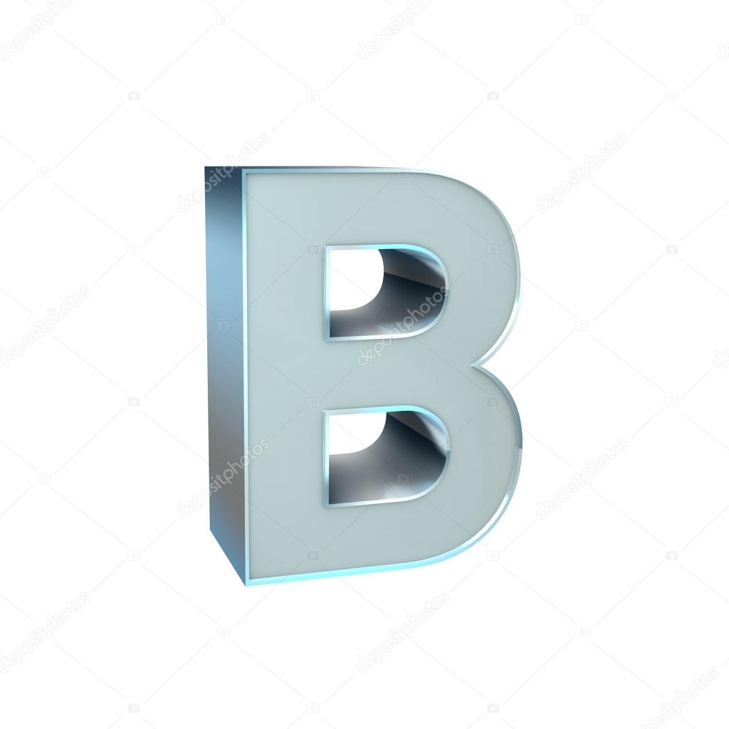 Silver Abc Character Stock Photo Pixeleurope 19408075
