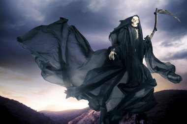 Grim reaper, angel of death