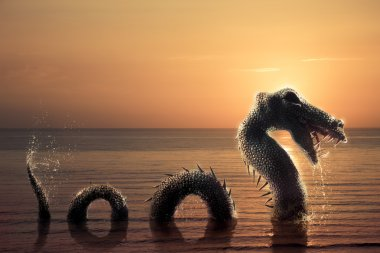 Scary Loch Ness Monster