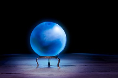 Fortune teller's Crystal Ball