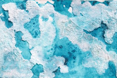 Abstract background cold color