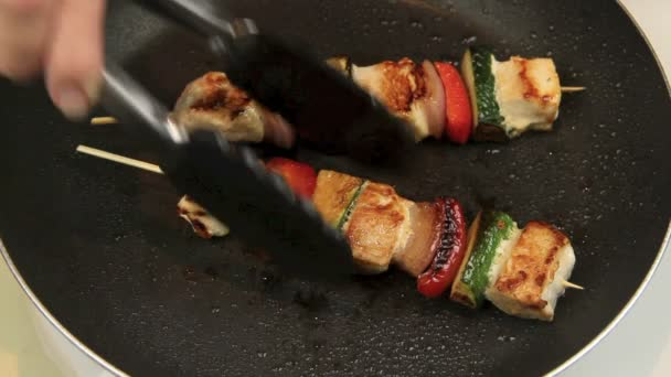 Cooking Chicken Kebabs