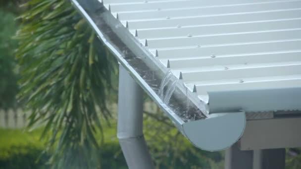 prší střecha