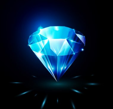 Shining diamond