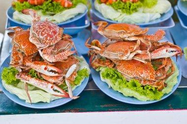 horse Crab boil for eat