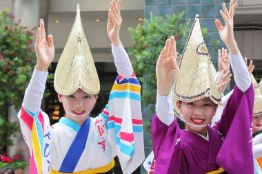 TOKYO, JAPAN-JUNE 2: Fukuro Matsuri festival in Ikebukuro. Conte