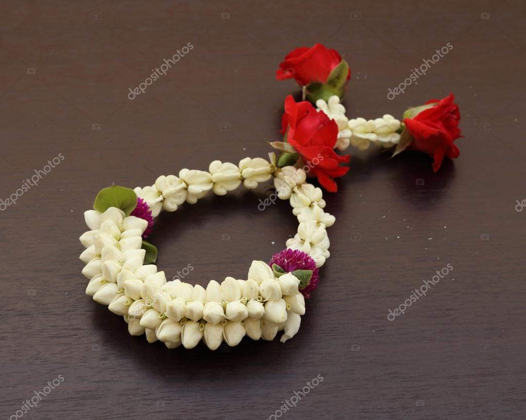 Garland of jasmine flower