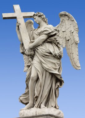 Statue of an Angel on Sant'Angelo Bridge