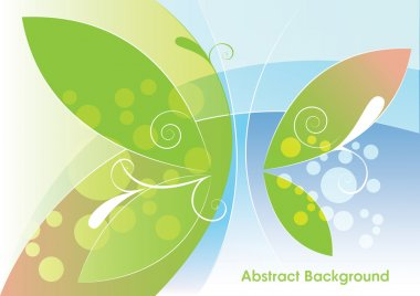 Abstract light background, vector illustration