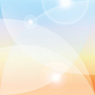 Colorful light background, lenses flare effect