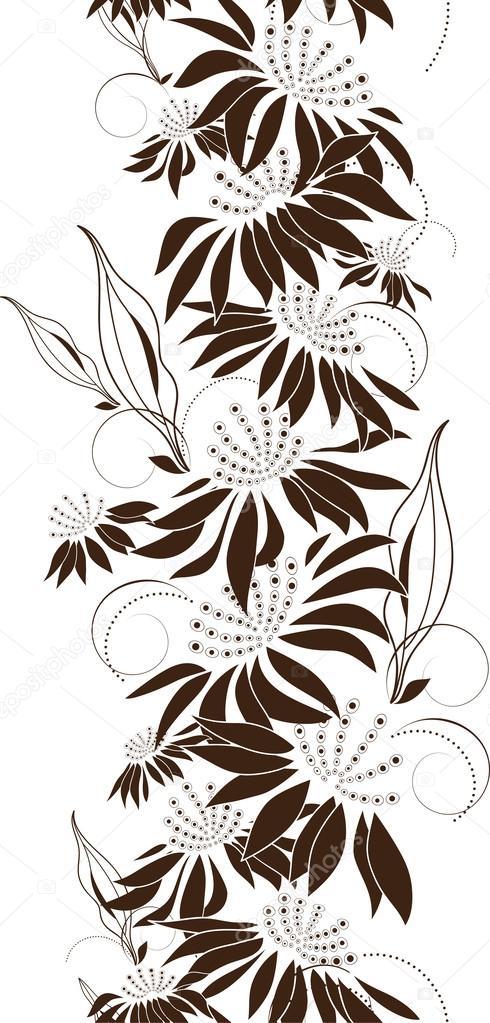 Seamless floral design