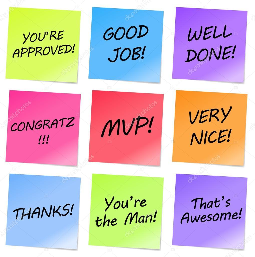 Appreciation notes stock vector herminutomo 12457645 appreciation notes stock vector altavistaventures Image collections