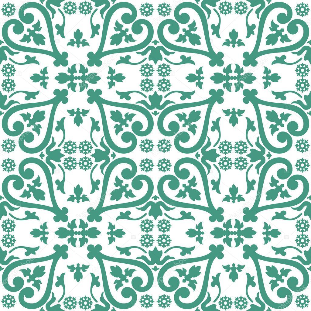 nahtlose bunten ornament fliesen — stockvektor © anamomarques #32608629