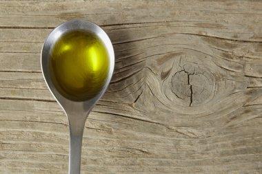 spoon full of olive oil
