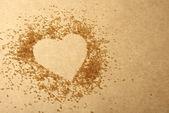 Valentinky den, srdce z cukru tlačenka
