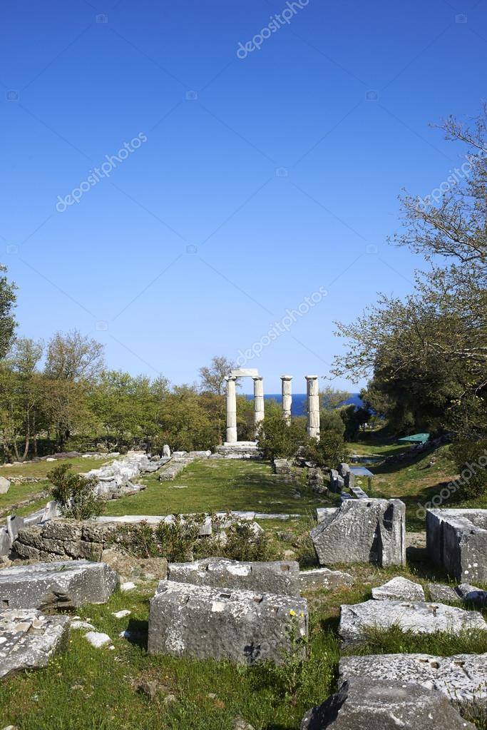 Samothrace the sanctuary of the Great Gods