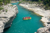 Fotografie Rafting in the green canyon, Alanya, Turkey