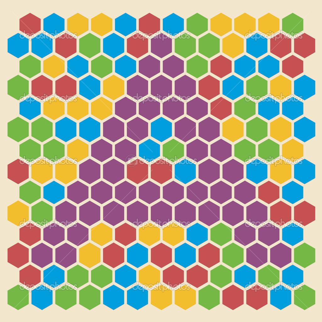 Шаблон шестиугольника скачать