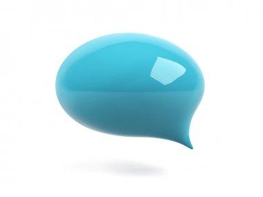 3d l bubble text.