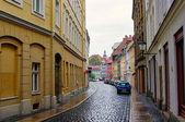Fotografie die typischen Gebäude im Zentrum von Görlitz, Deutschland