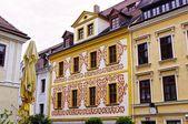 bunte Hausfassade - Görlitz, Deutschland