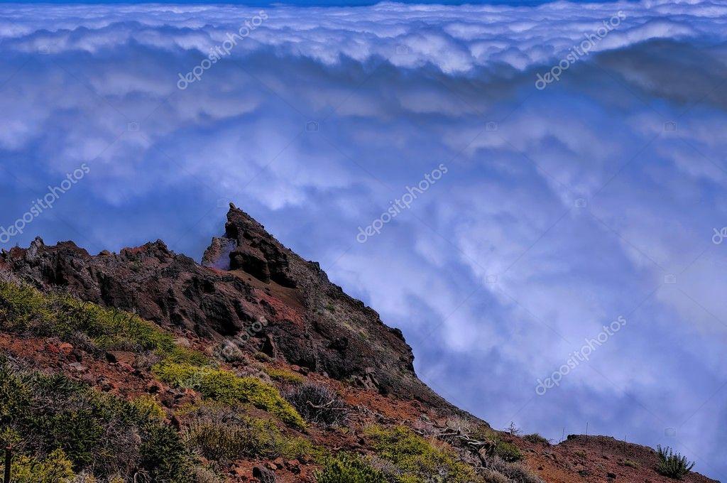 La Palma island, Caldera Taburiente, Canary, Spain