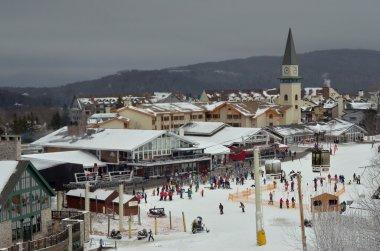 View to Stratton ski resort loudge i Stratton, Vermont