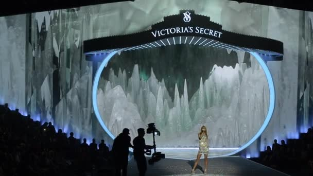 Snow Angels part of runway at Victorias Secret Fashion Show
