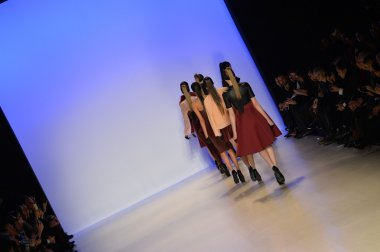 Models runway finale at Meskita fashion show