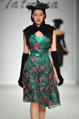 Model at Tatyana Designs