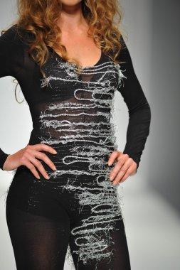 Model at Quynh Paris fashion show