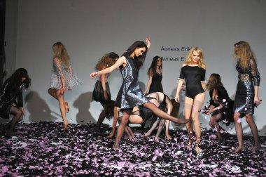 Models at Aeneas Erlking Fashion Presentation