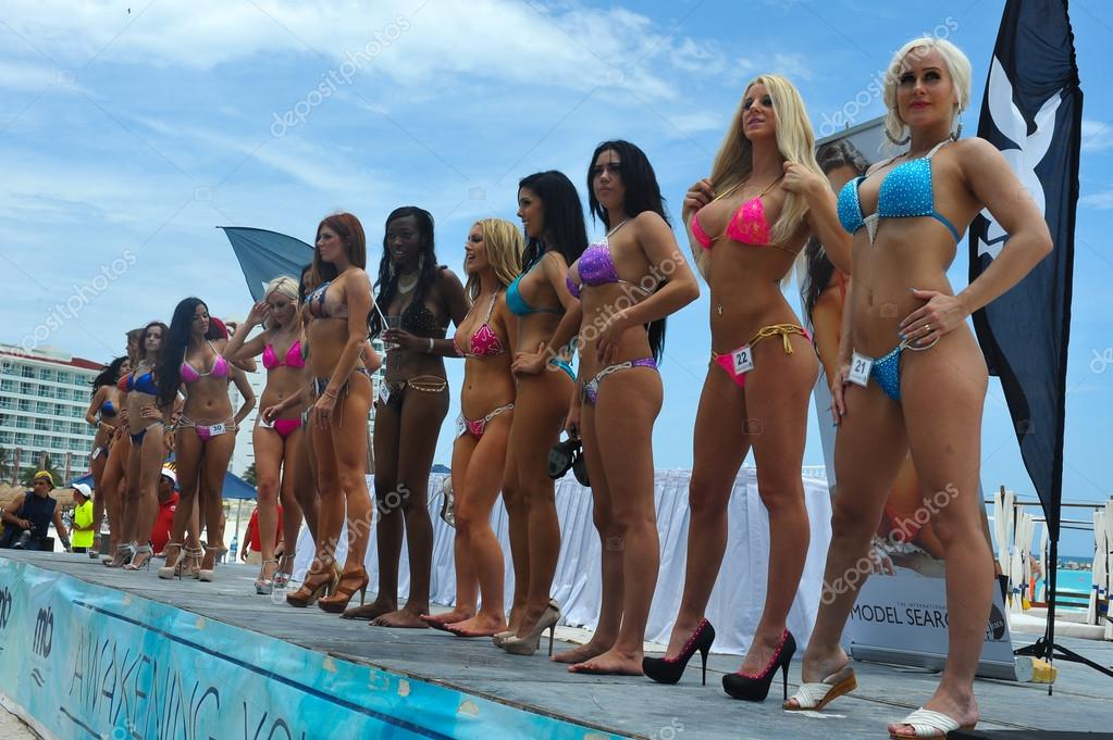 Models lineup during IBMS