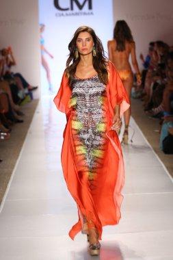 Model walks at Cia Maritima collection