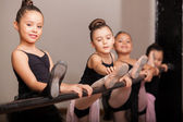 Fotografie Happy ballet dancers