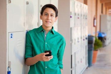 Texting in high school