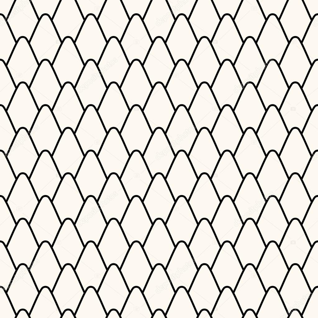 Seamless pattern with stylized scales. — Stock Vector © svetolkunova ...