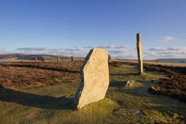 Prehistoric stone circle and henge