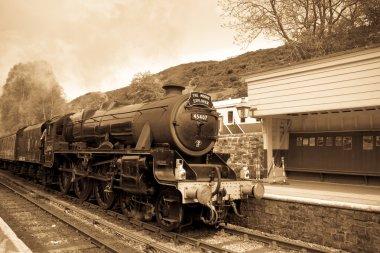 Steam train at Goathland