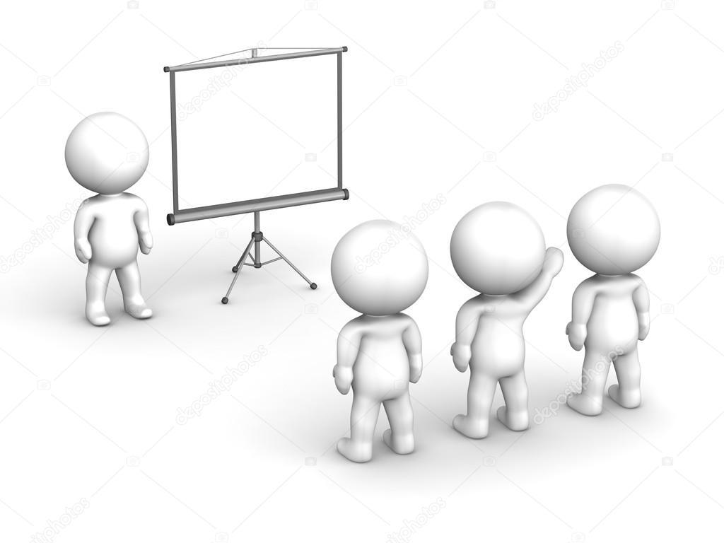 3d man presentation