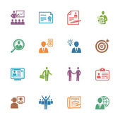 Photo Employment and Business Icons - Colored Series