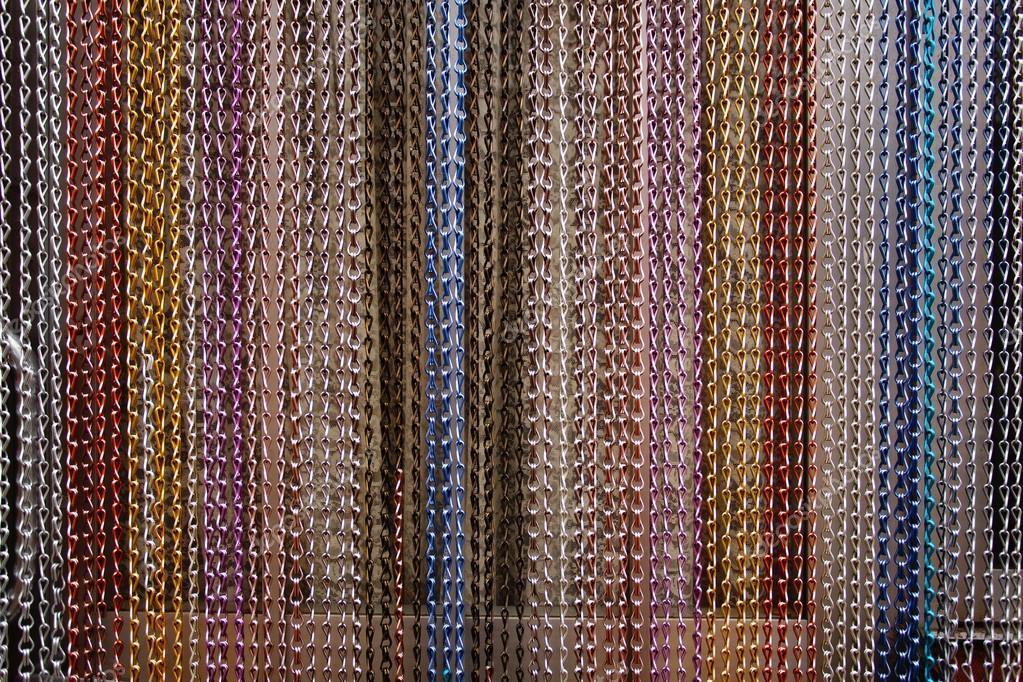Geflochtener Draht hängende Vorhang — Stockfoto © Demachy #18752385