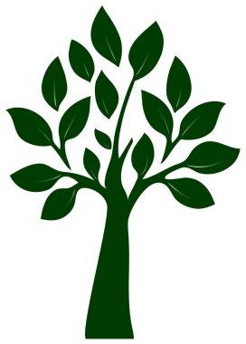 Tree silüet