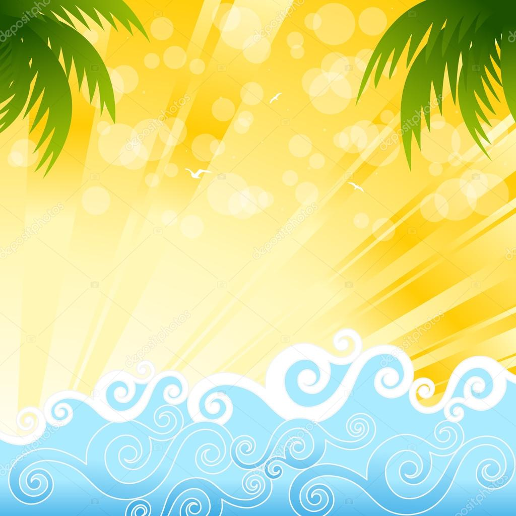 summer wallpaper swimming vector - photo #49