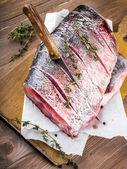 Fotografie ryby řez