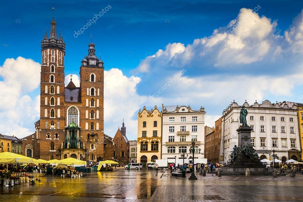 Krakow historical center