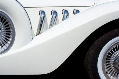 elements of a white car