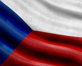 grunge Česká republika vlajka